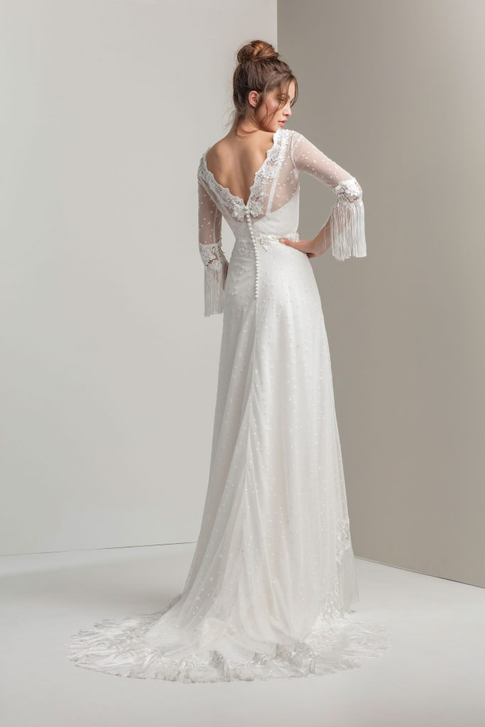 Vestidos de novia 2020 - EGIPTO - detrás - Silvia Fernandez