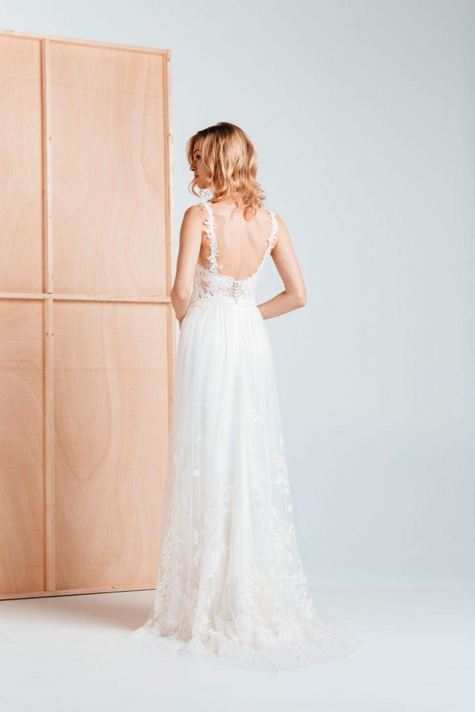 Vestidos de novia - ENEBRO - Silvia Fernández 2020