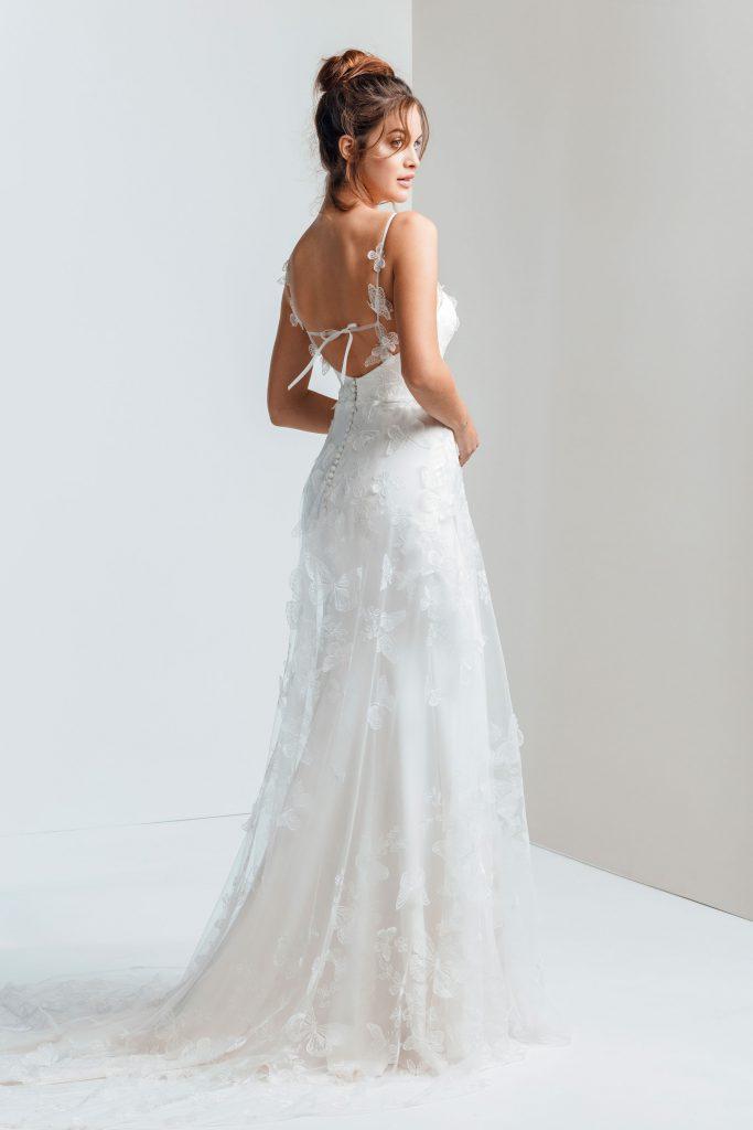 Vestido de novia - ESTE - Silvia Fernandez - detras