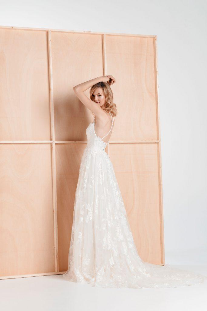 Vestido de novia - Estival - Silvia Fernandez