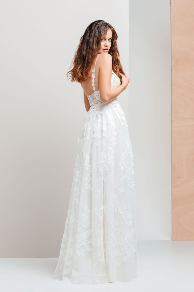 Vestidos de novia - ETNA - detras - Silvia Fernandez - 2020