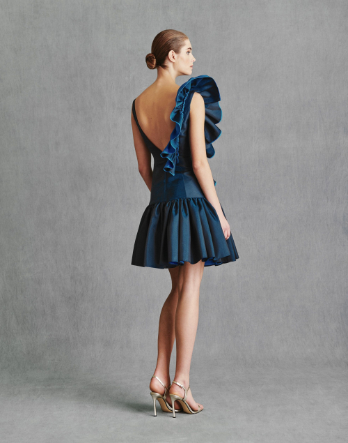 Vestidos de Fiesta 2020 - Silvia Fernandez Atelier - ICEBERG - detrás