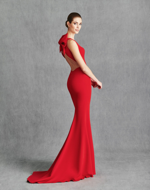 Vestidos de Fiesta 2020 - Silvia Fernandez Atelier - ICONO - detrás