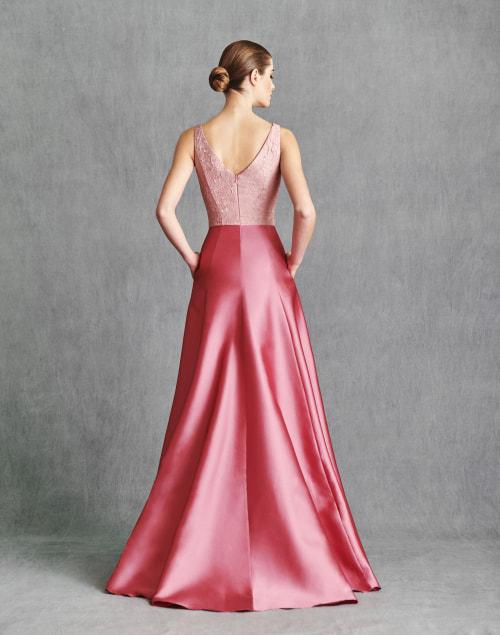 Vestidos de Fiesta 2020 - Silvia Fernandez Atelier - ILIANA - detrás