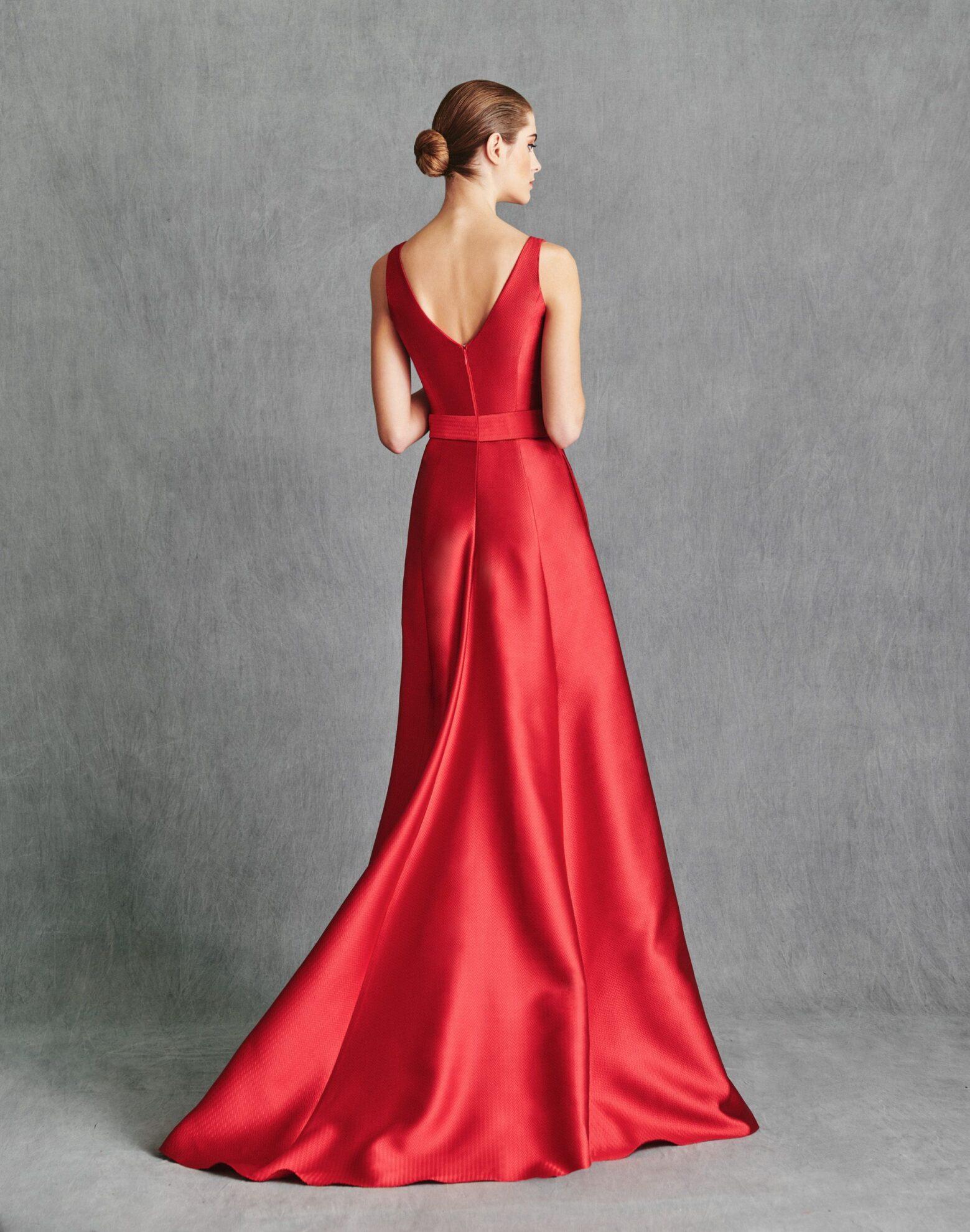 Vestidos de Fiesta 2020 - Silvia Fernandez Atelier - ILLINOIS - detrás