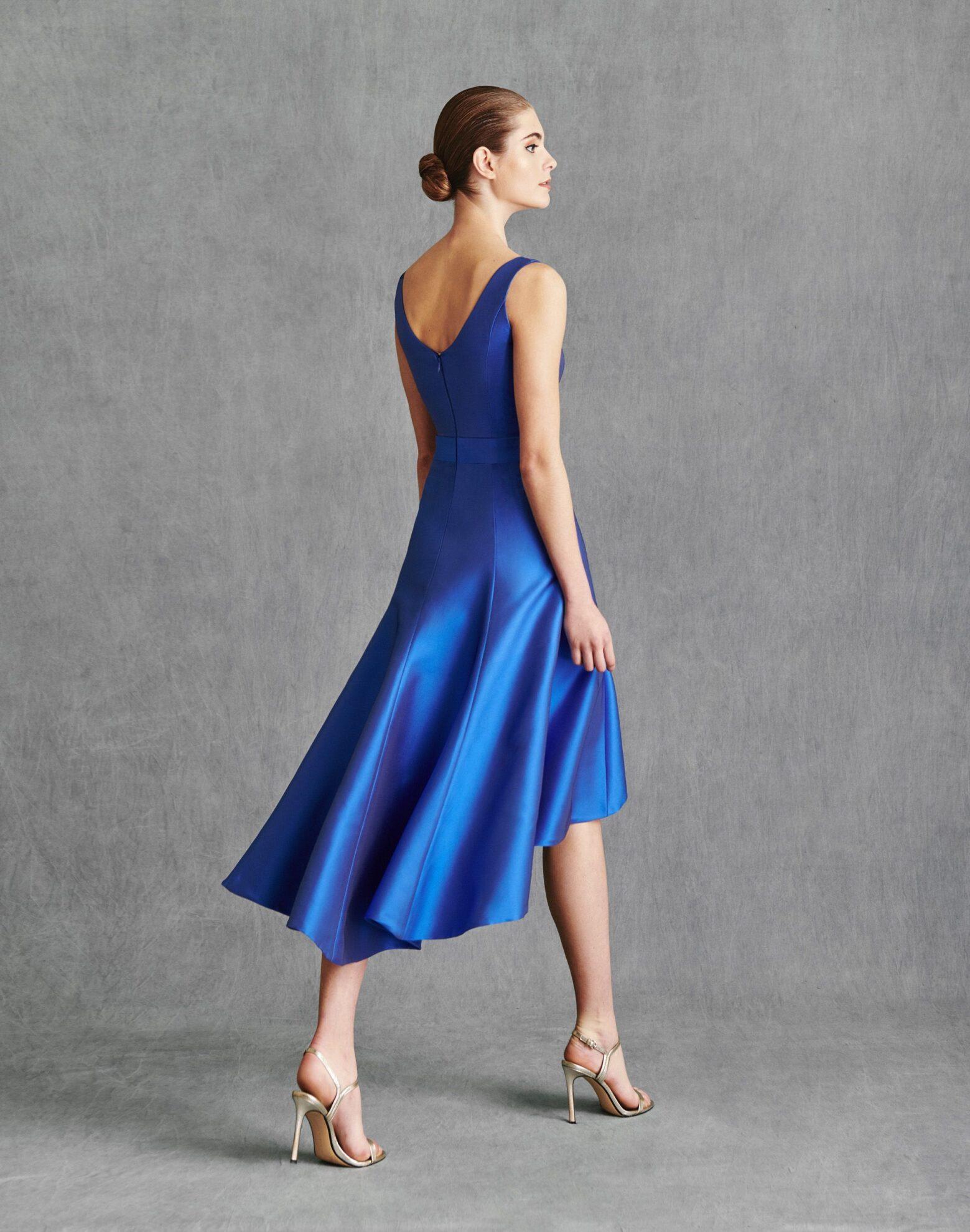 Vestidos de Fiesta 2020 - Silvia Fernandez Atelier - INDIA - detrás
