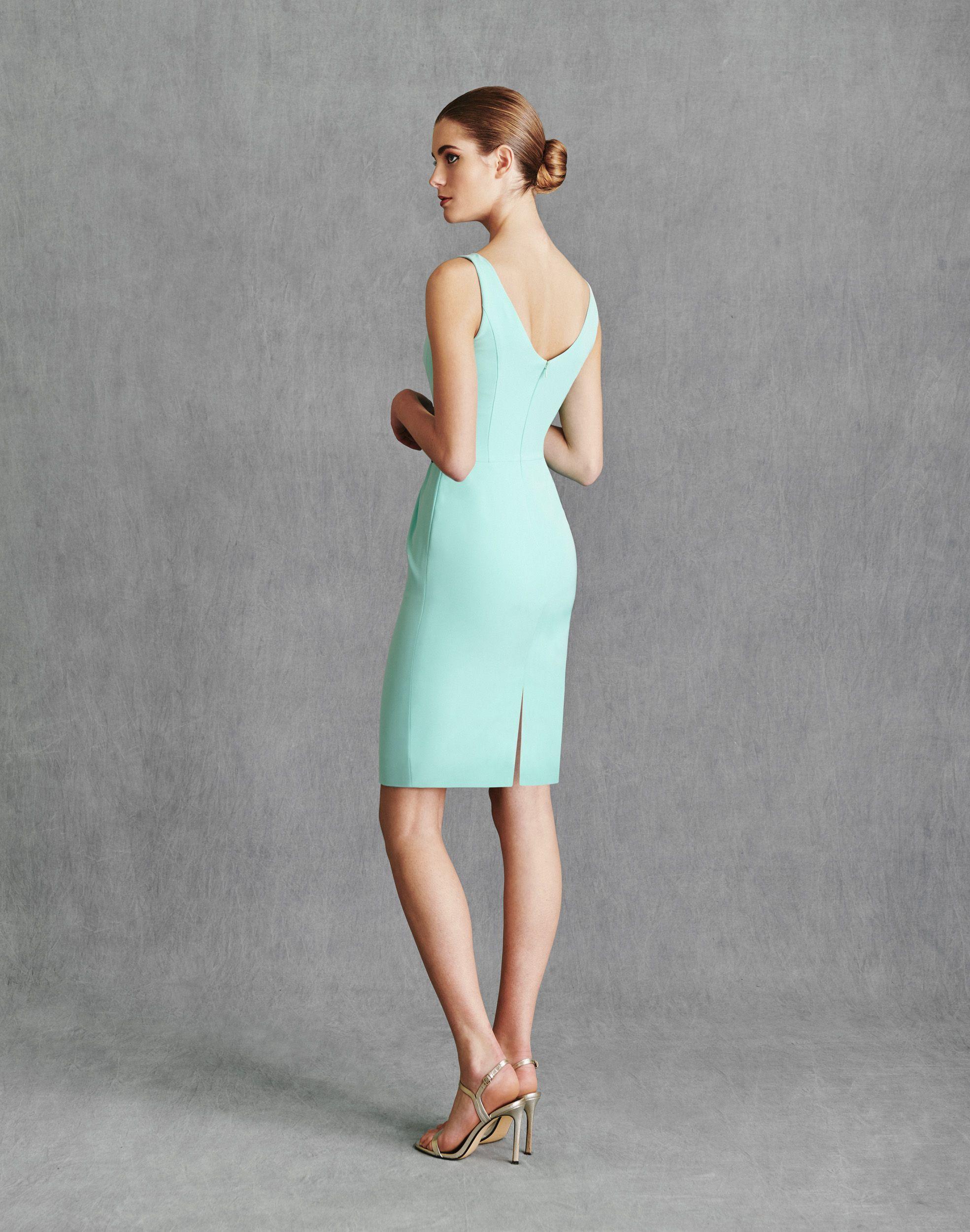 Vestidos de Fiesta 2020 - Silvia Fernandez Atelier - INDIANAPOLIS - detrás