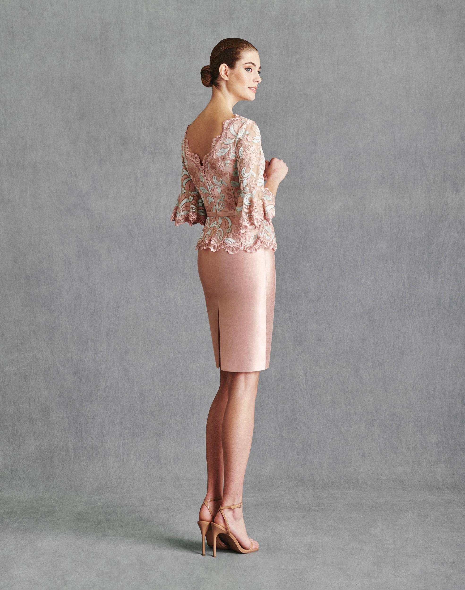 Vestidos de Fiesta 2020 - Silvia Fernandez Atelier - INGRID - detrás