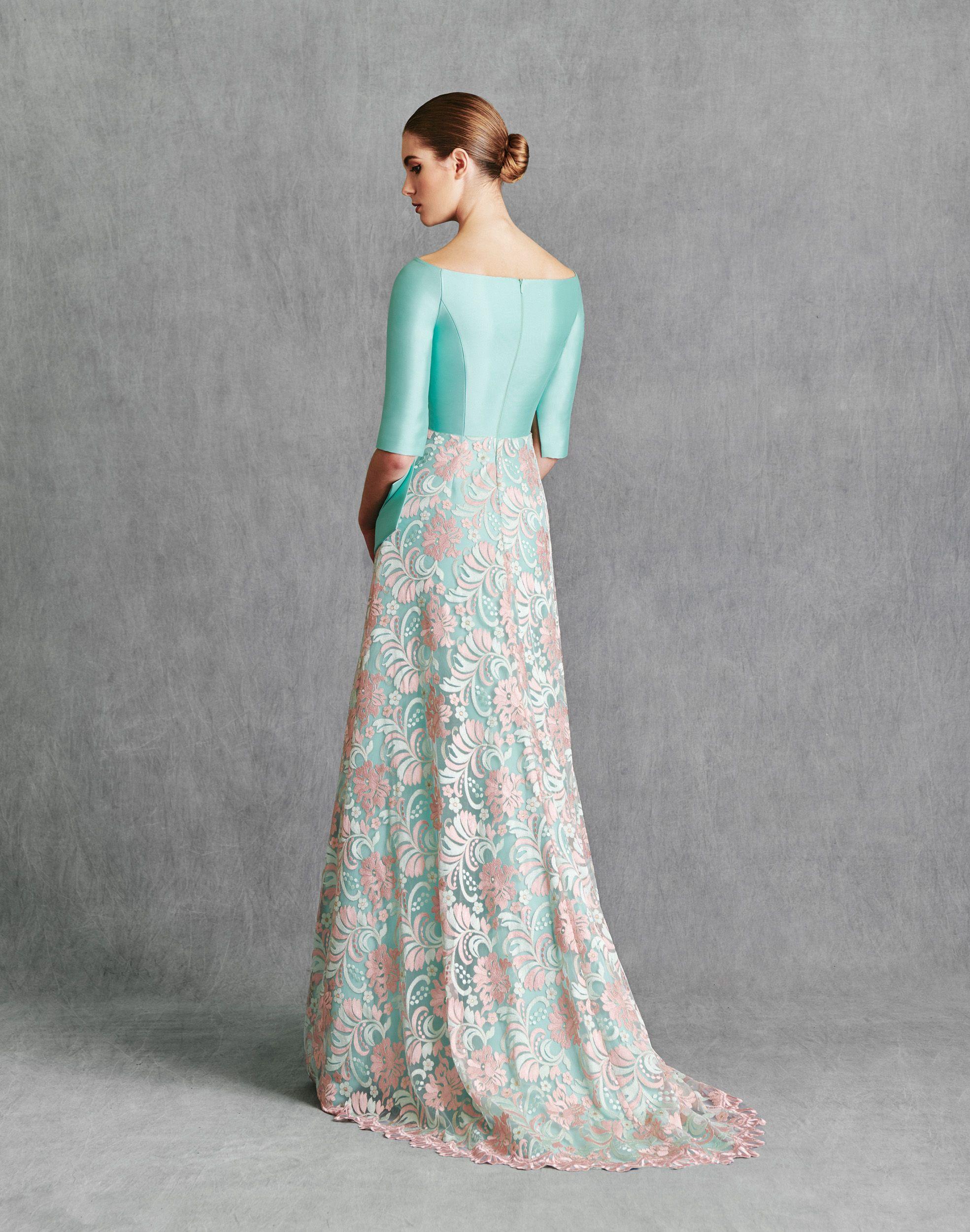 Vestidos de Fiesta 2020 - Silvia Fernandez Atelier - IOANNA - detrás