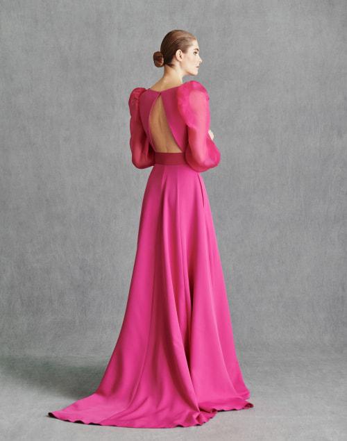 Vestidos de Fiesta 2020 - Silvia Fernandez Atelier - IRENE - detrás