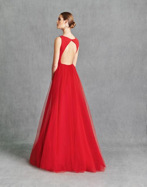 Vestidos de Fiesta 2020 - Silvia Fernandez Atelier - IRINA - detrás