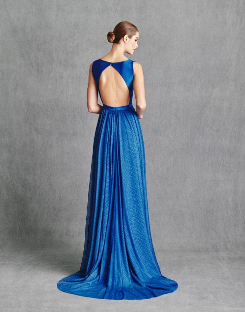 Vestidos de Fiesta 2020 - Silvia Fernandez Atelier - IRIS - detrás