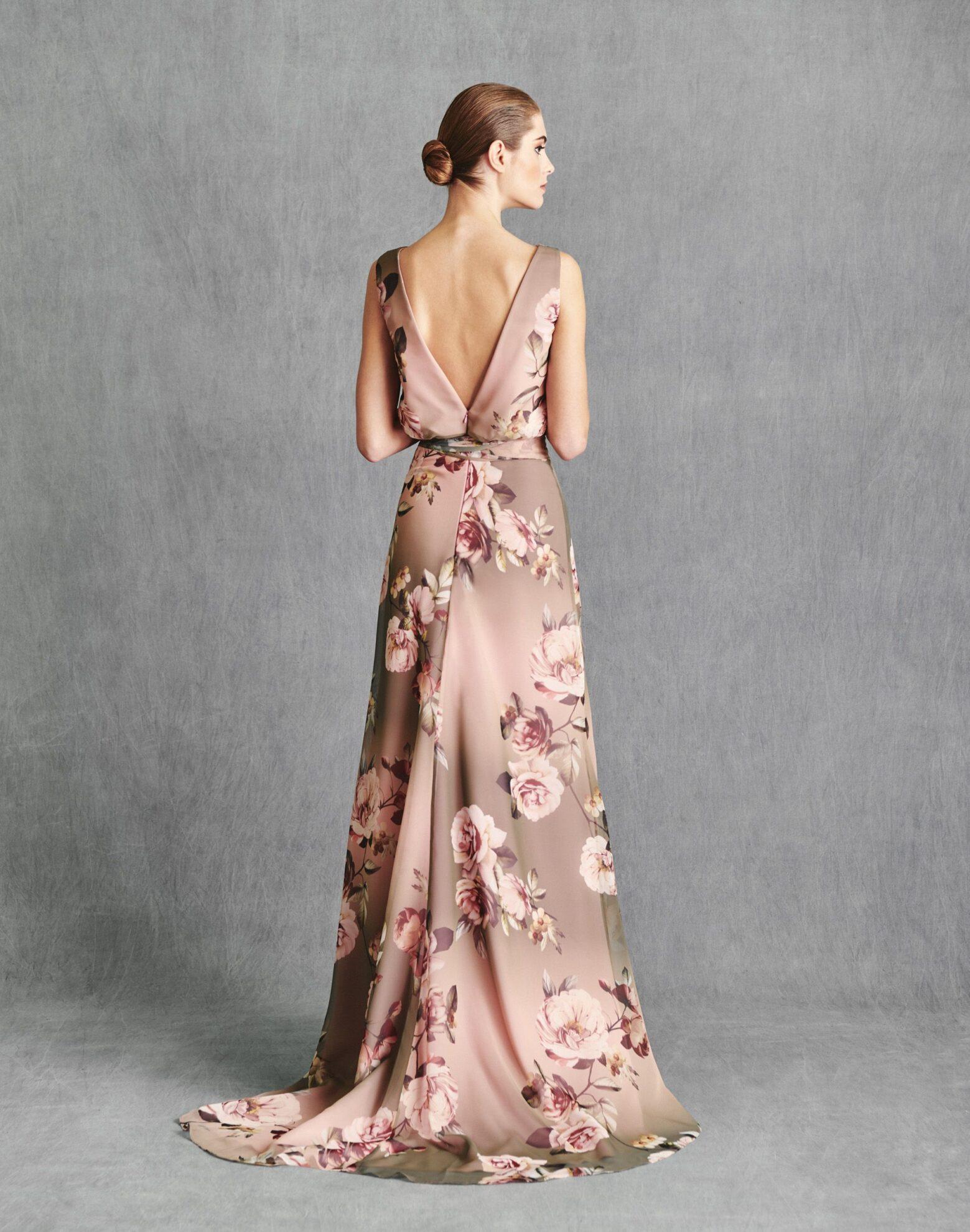 Vestidos de Fiesta 2020 - Silvia Fernandez Atelier - ISHTAR - detras