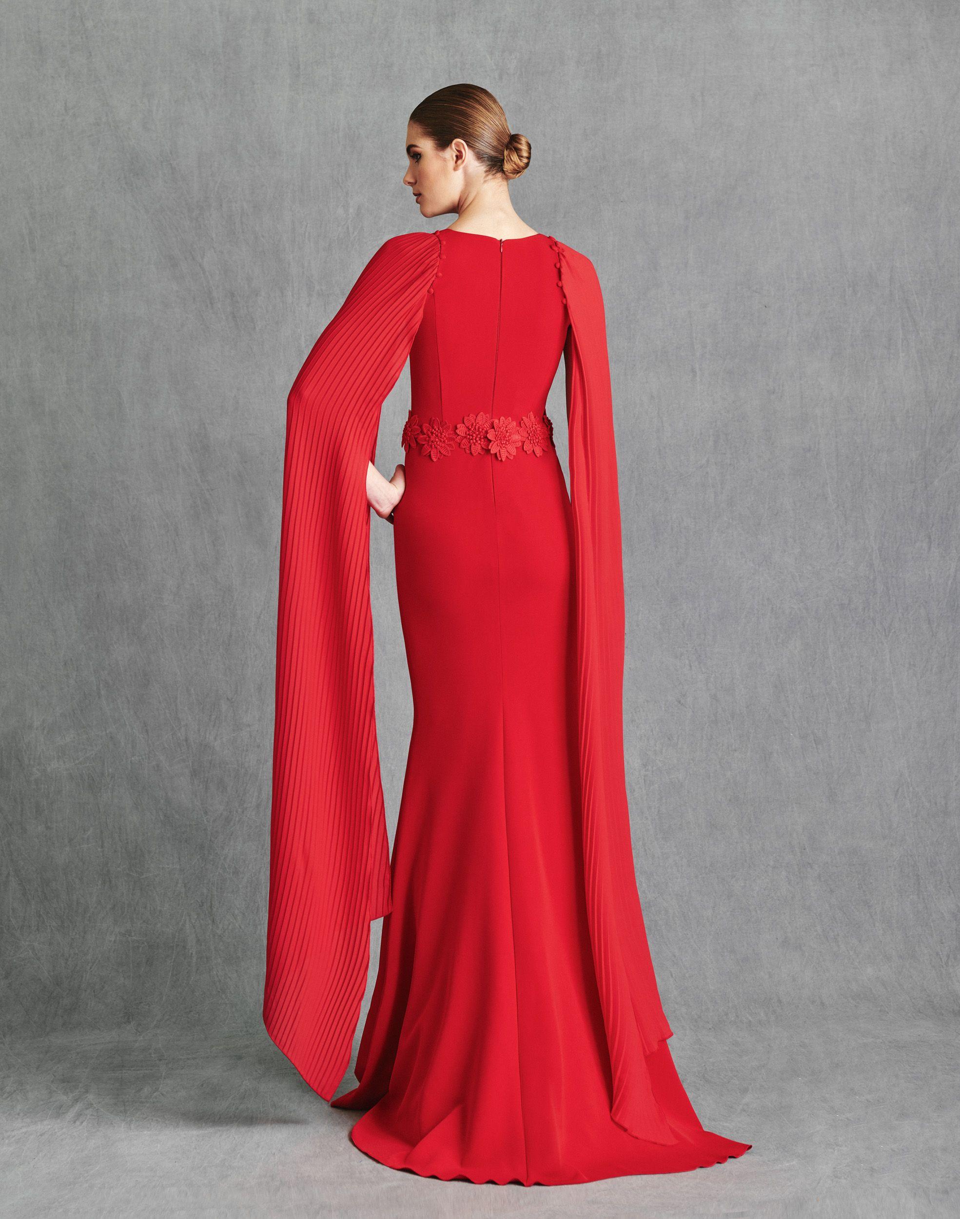 Vestidos de Fiesta 2020 - Silvia Fernandez Atelier - ISLANDIA - detras
