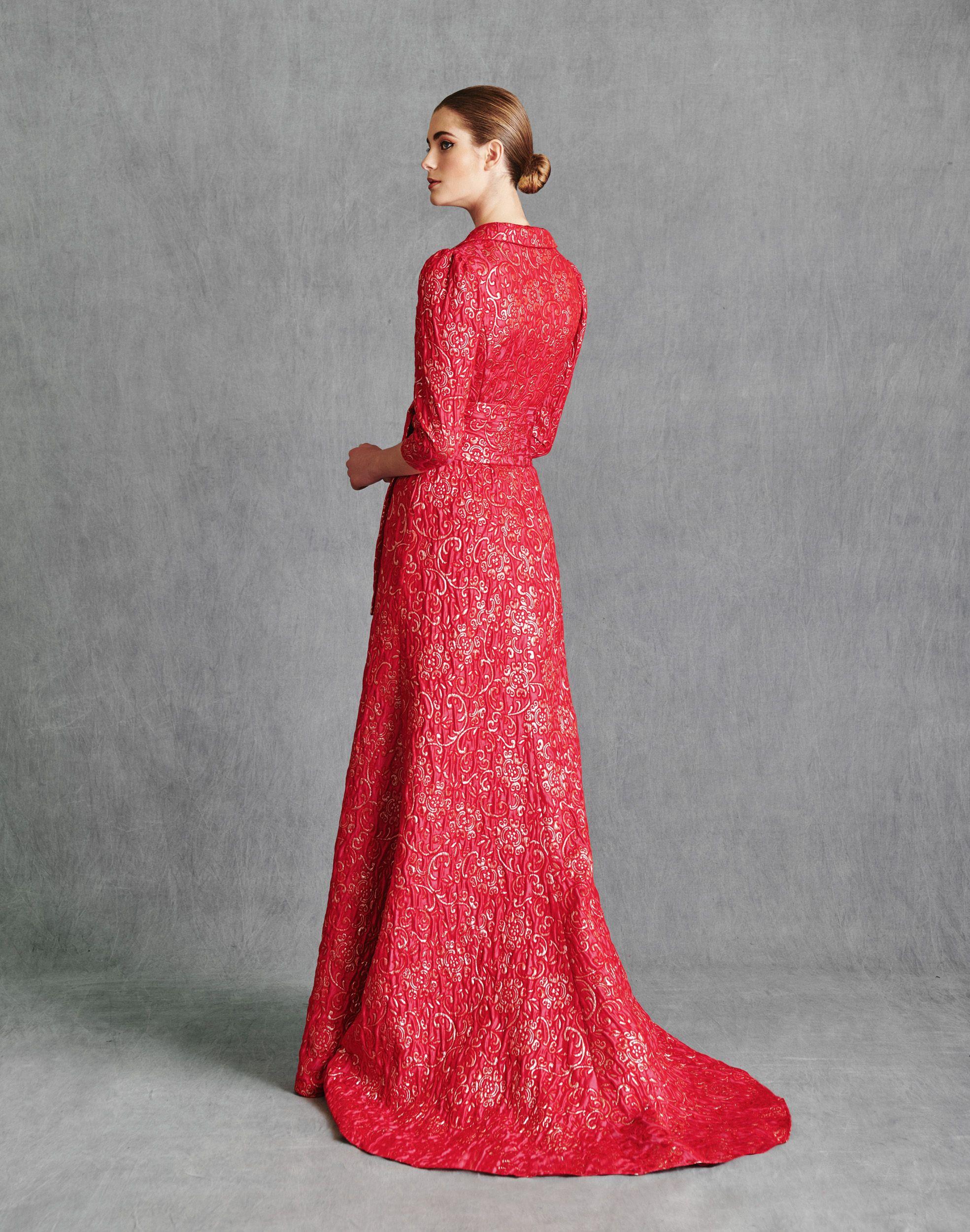 Vestidos de Fiesta 2020 - Silvia Fernandez Atelier - ITZIAR - detras