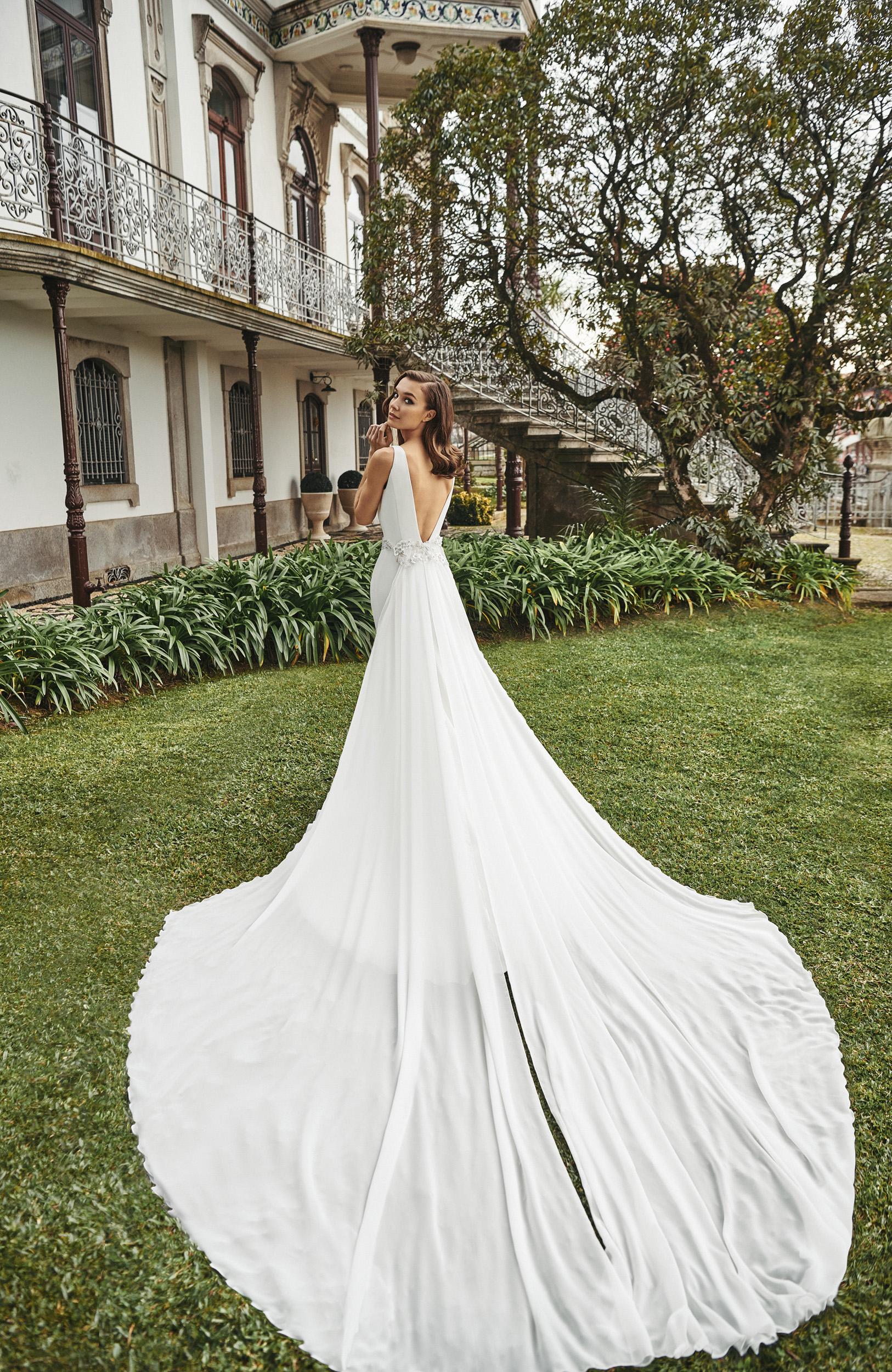Vestido de novia 2021 - Lago - detras