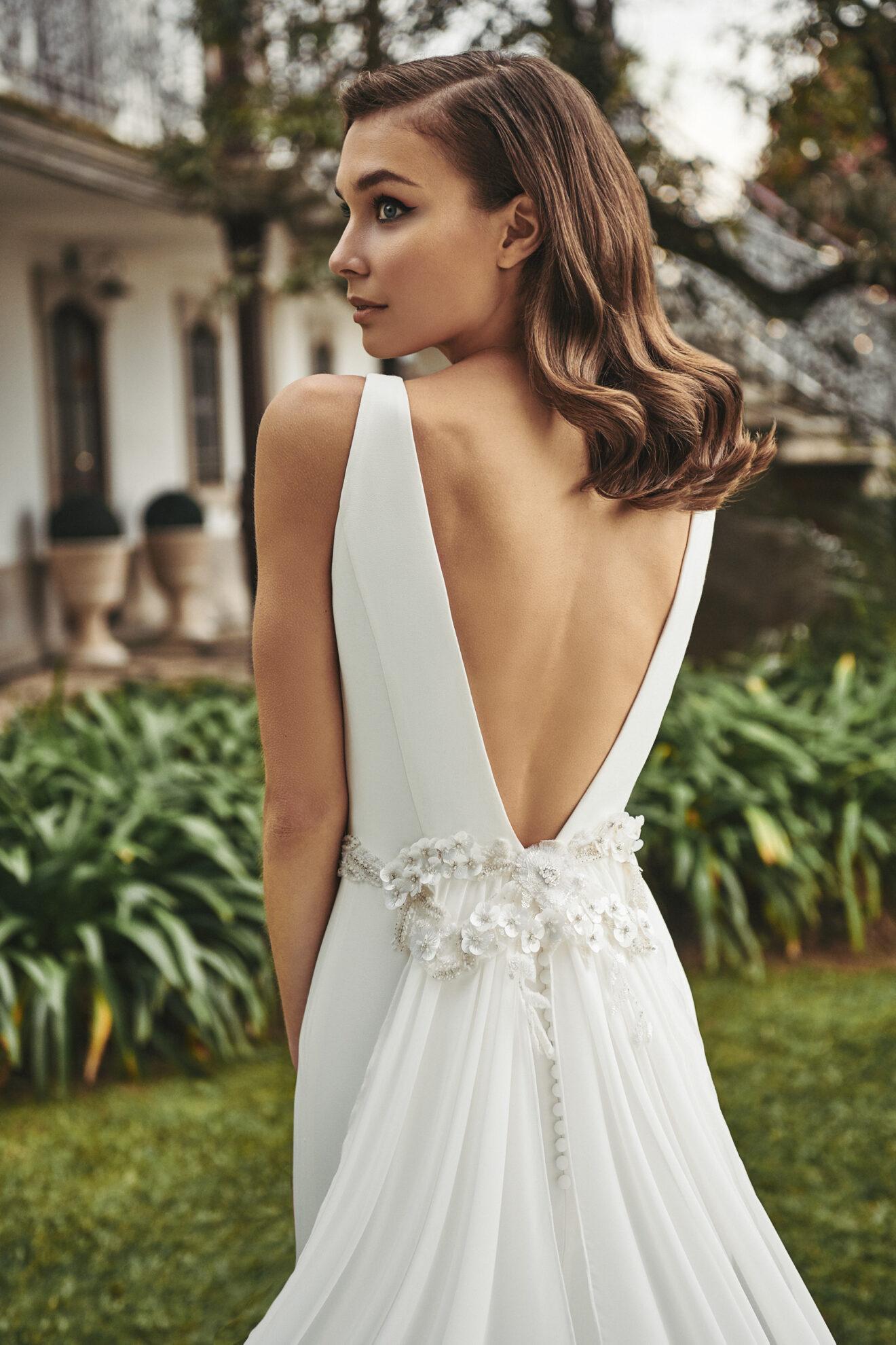 Vestido de novia 2021 - Lago - detalle