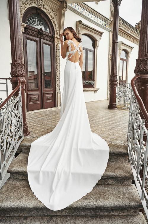 Vestido de novia 2021 - Laguardia - detras