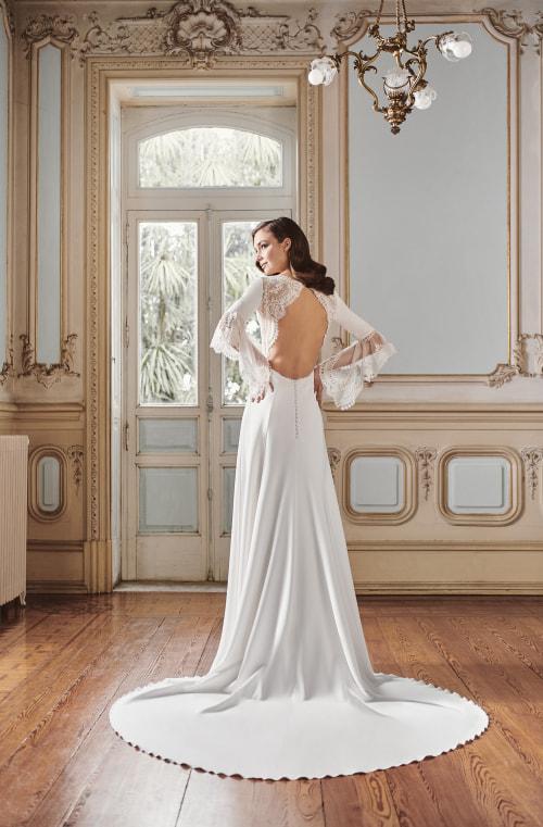 Vestido de novia 2021 - Laguna - detras