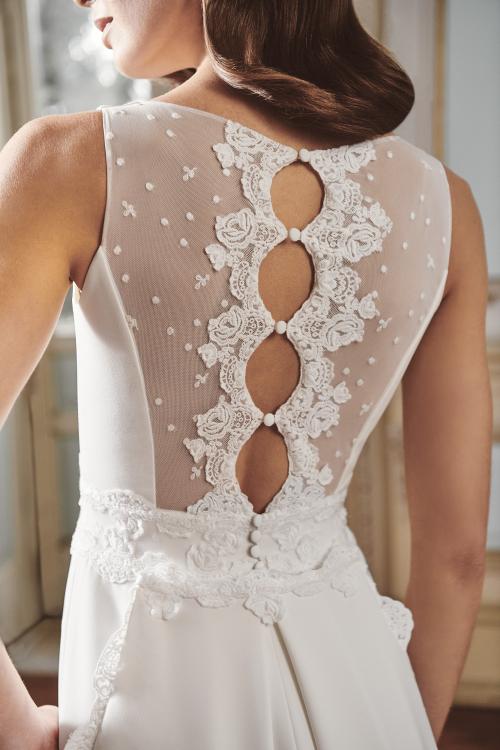 Vestido de novia 2021 - Laima - detalle