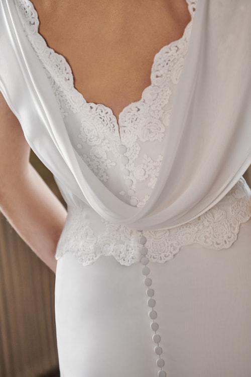 Vestido de novia 2021 - Lana - detalle