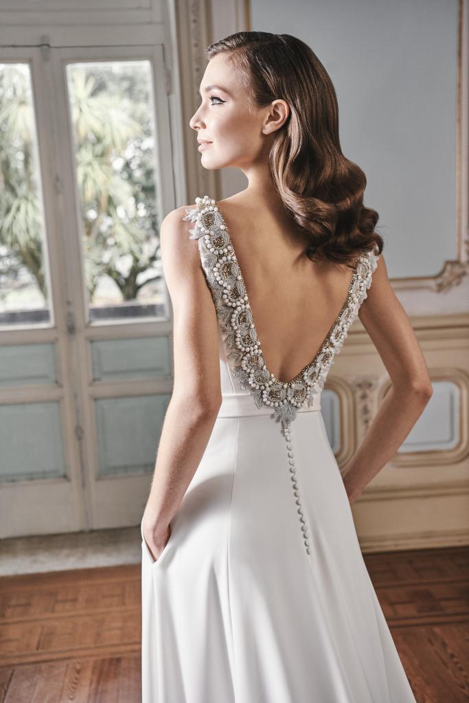 Vestido de novia 2021 - Laponia - detalle