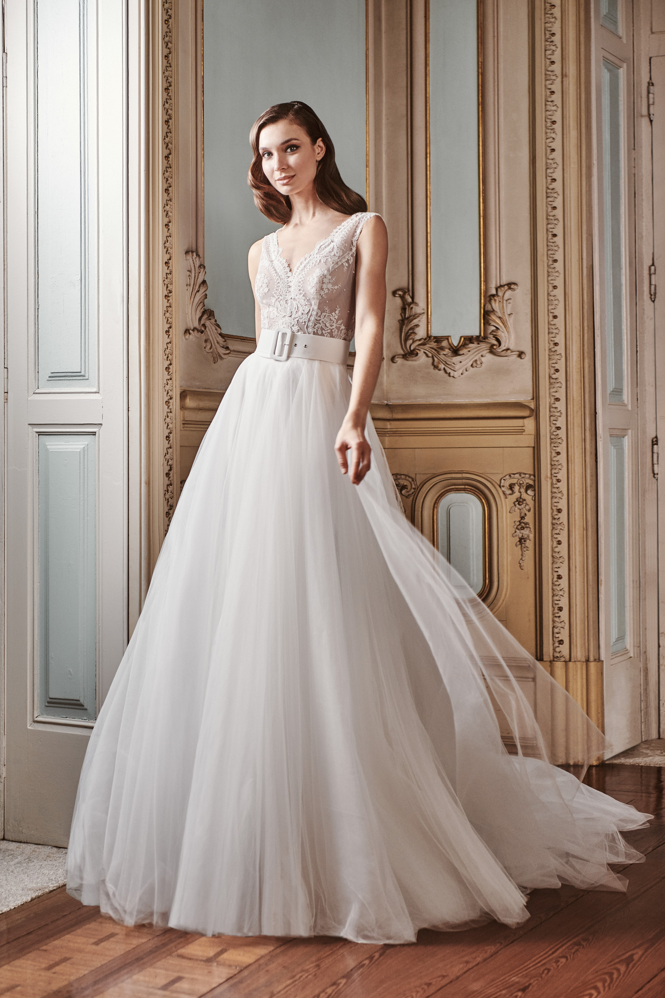 Vestido de novia 2021 - Laredo - tul