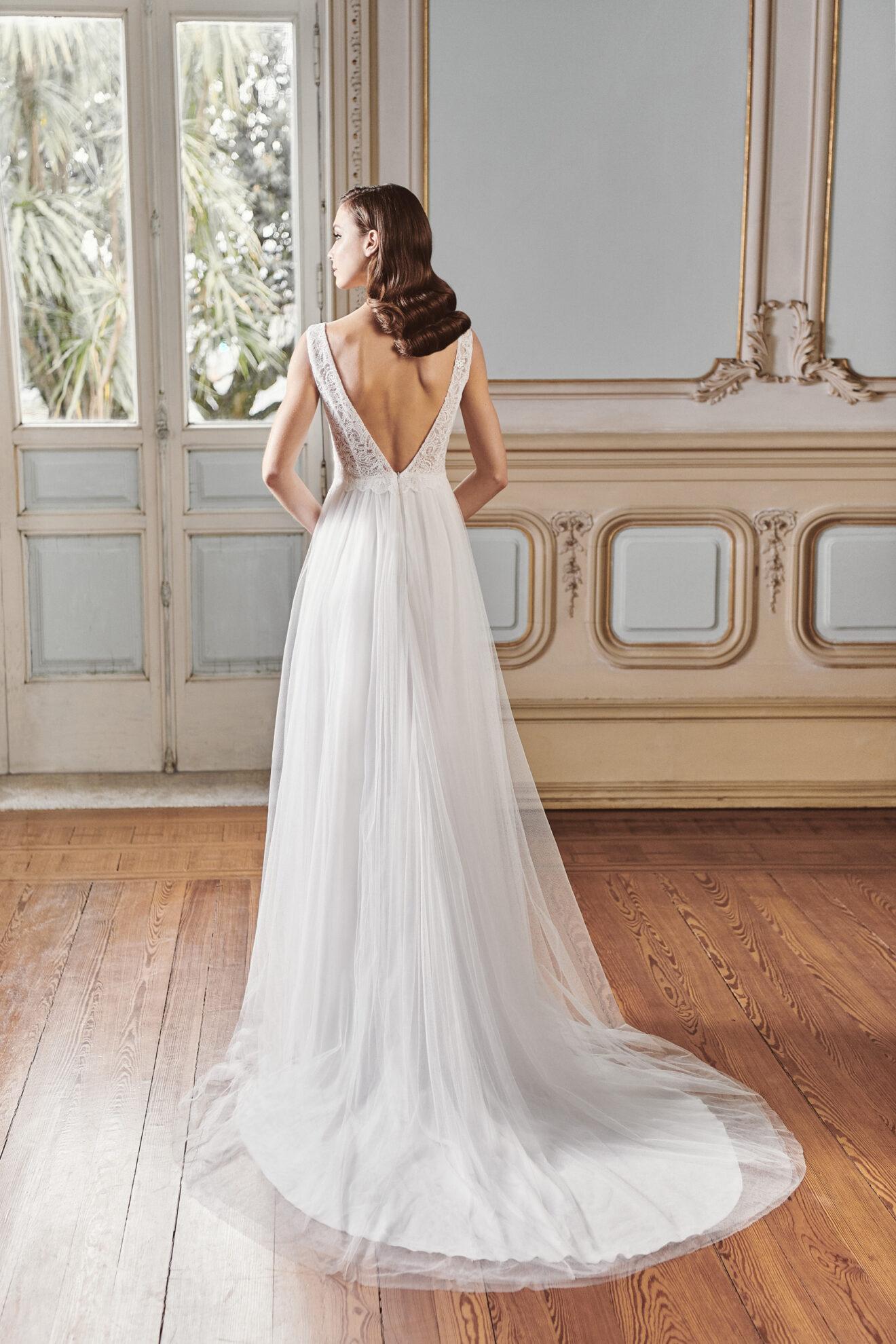 Vestido de novia 2021 - Leda - detras