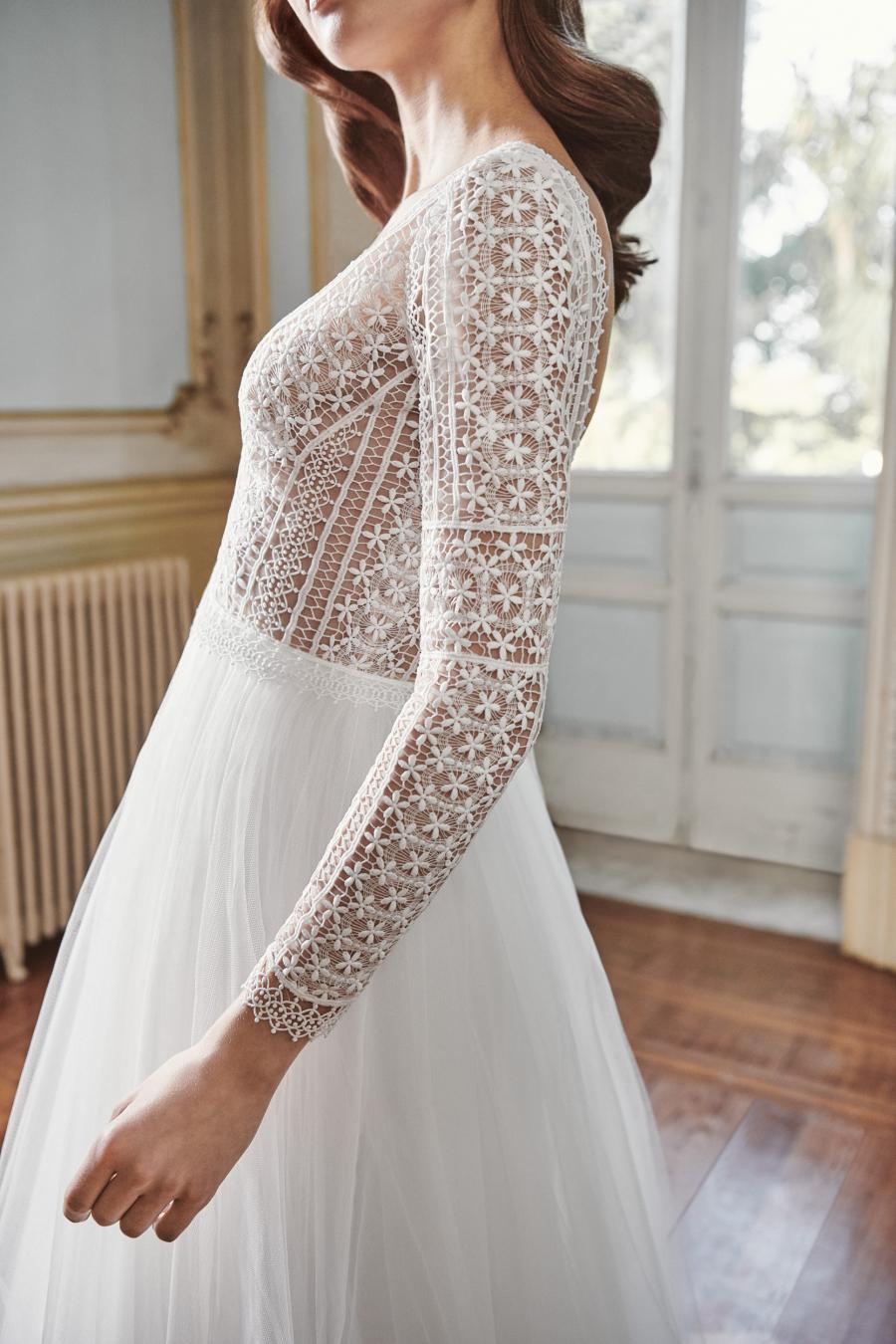 Vestido de novia 2021 - Leia - detalle