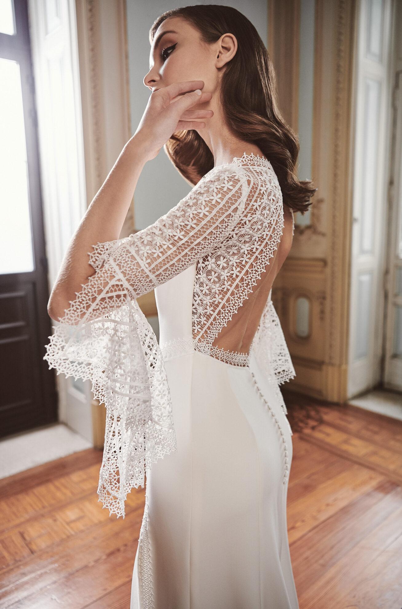 Vestido de novia 2021 - Lerida - detalle