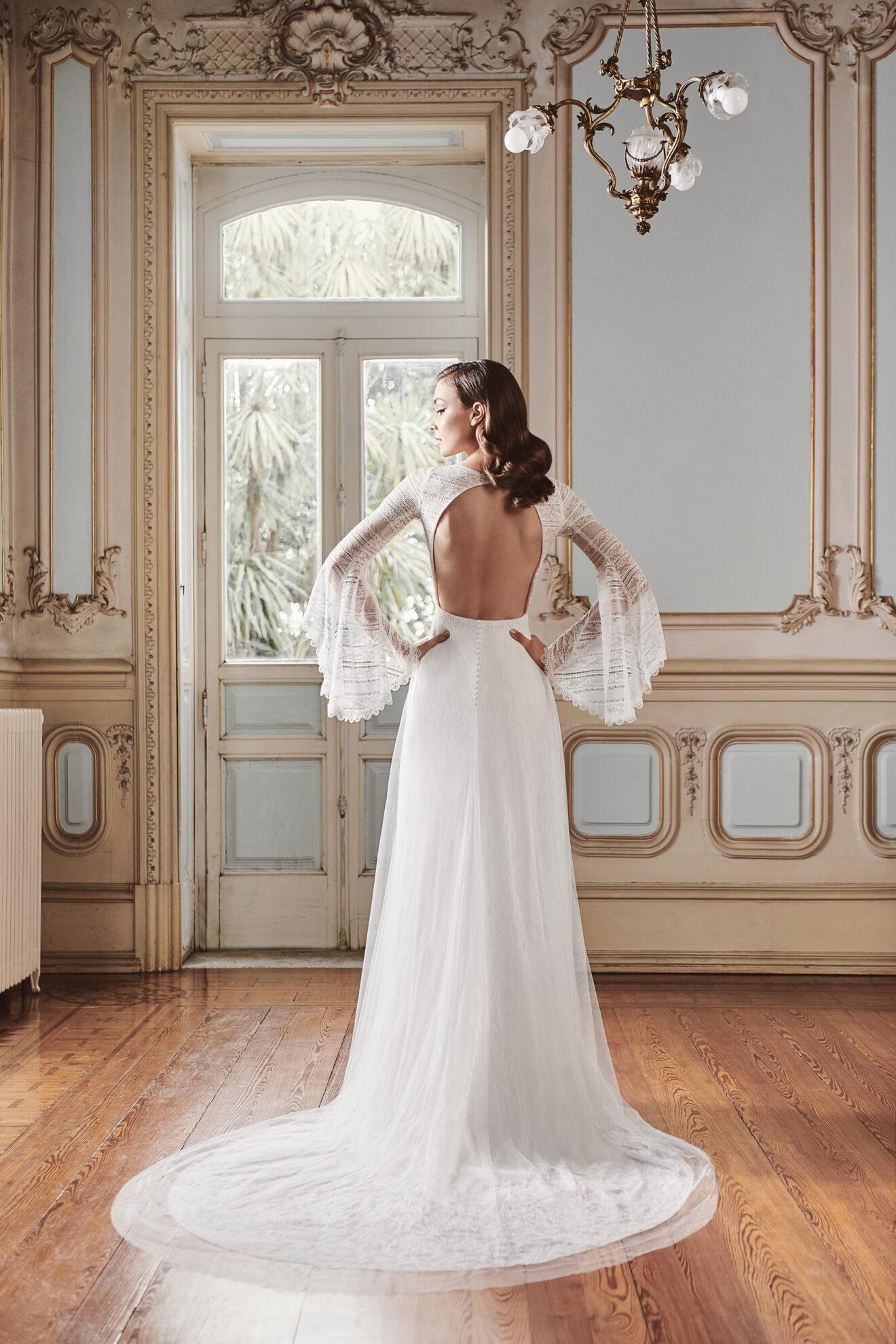 Vestido de novia 2021 - Lerma - detras