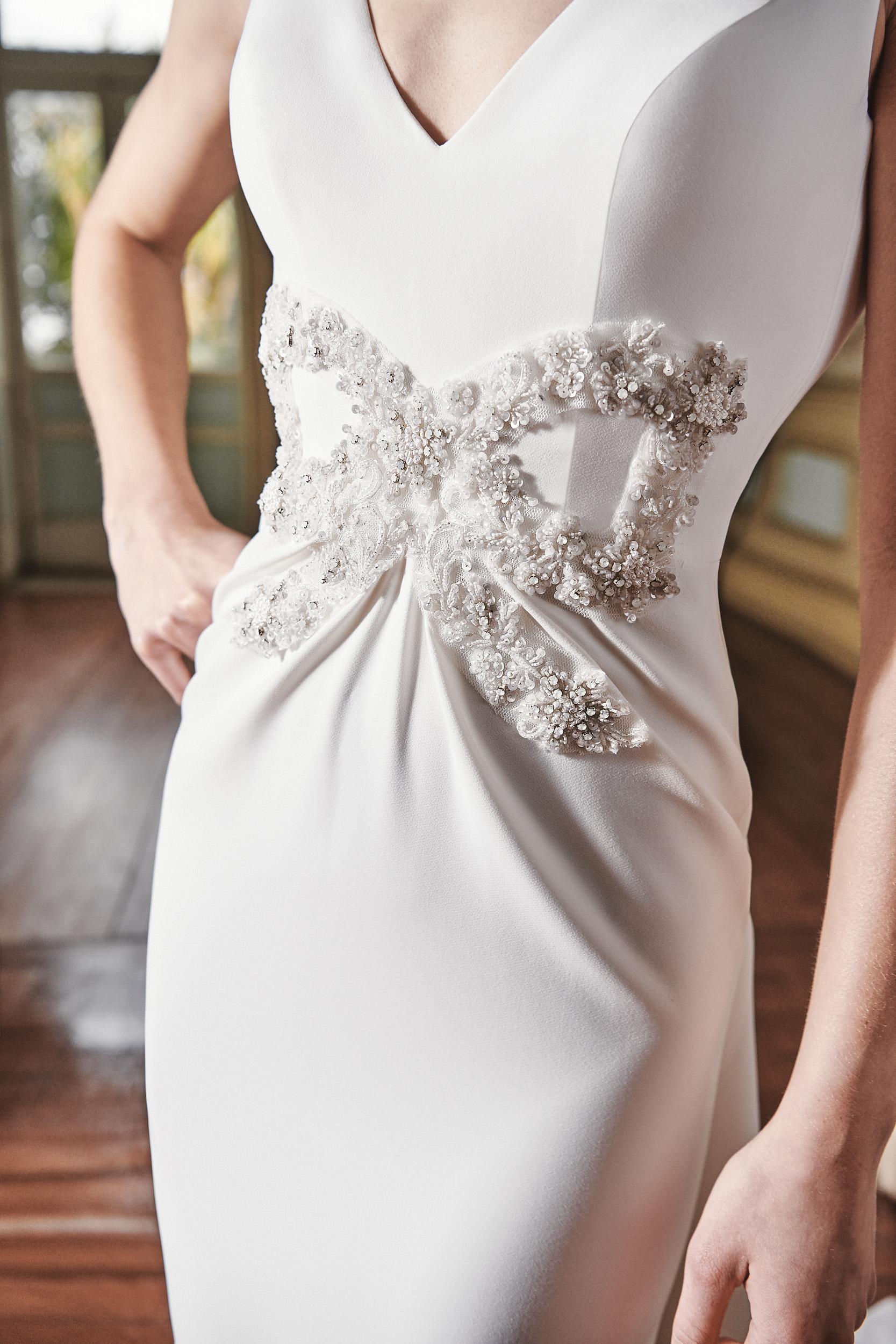 Vestido de novia 2021 - Liber - detalle