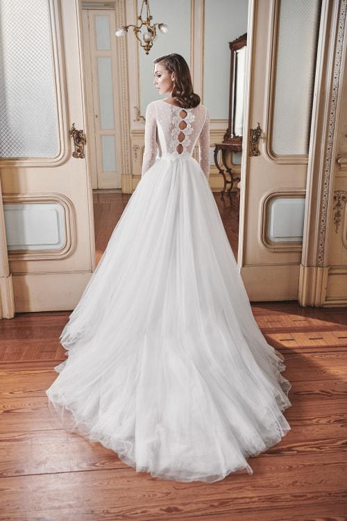 Vestido de novia 2021 - Lilly - detras