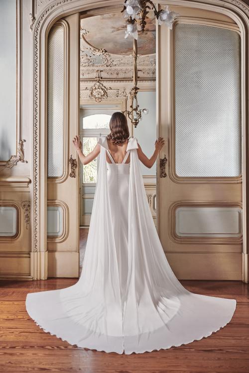 Vestido de novia 2021 - Limon - detras