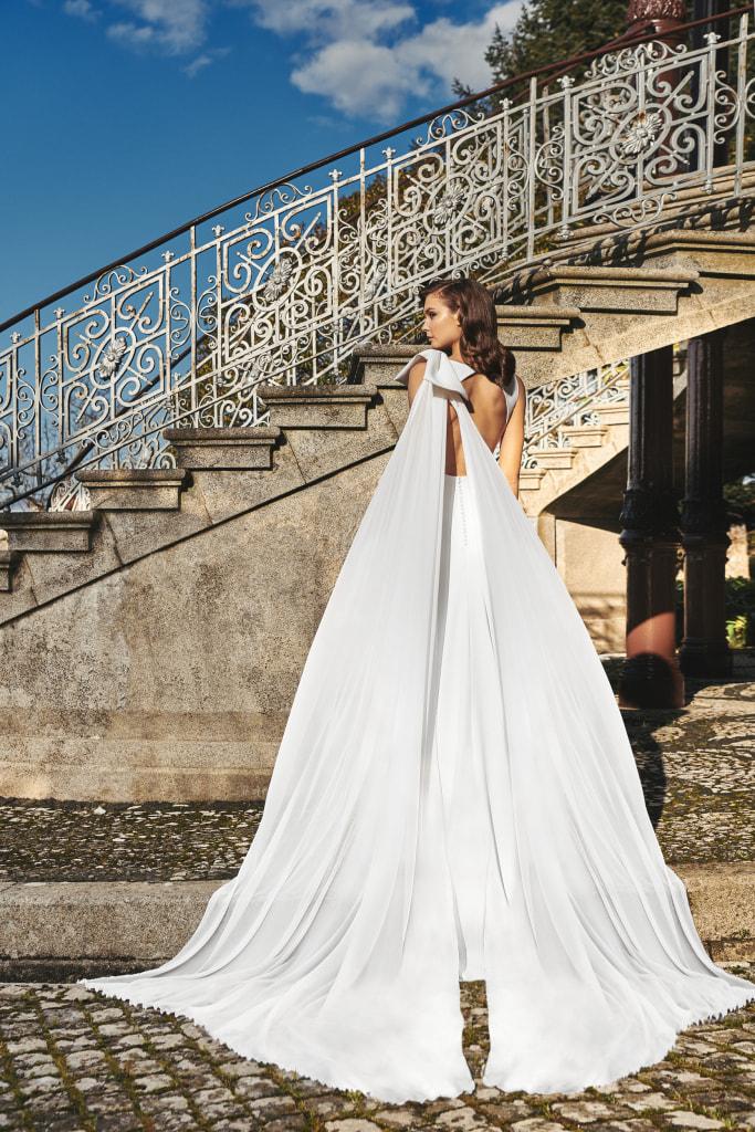 Vestido de novia 2021 - Lina - detras