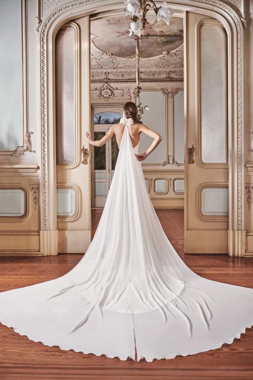 Vestido de novia 2021 - Lisboa - detras
