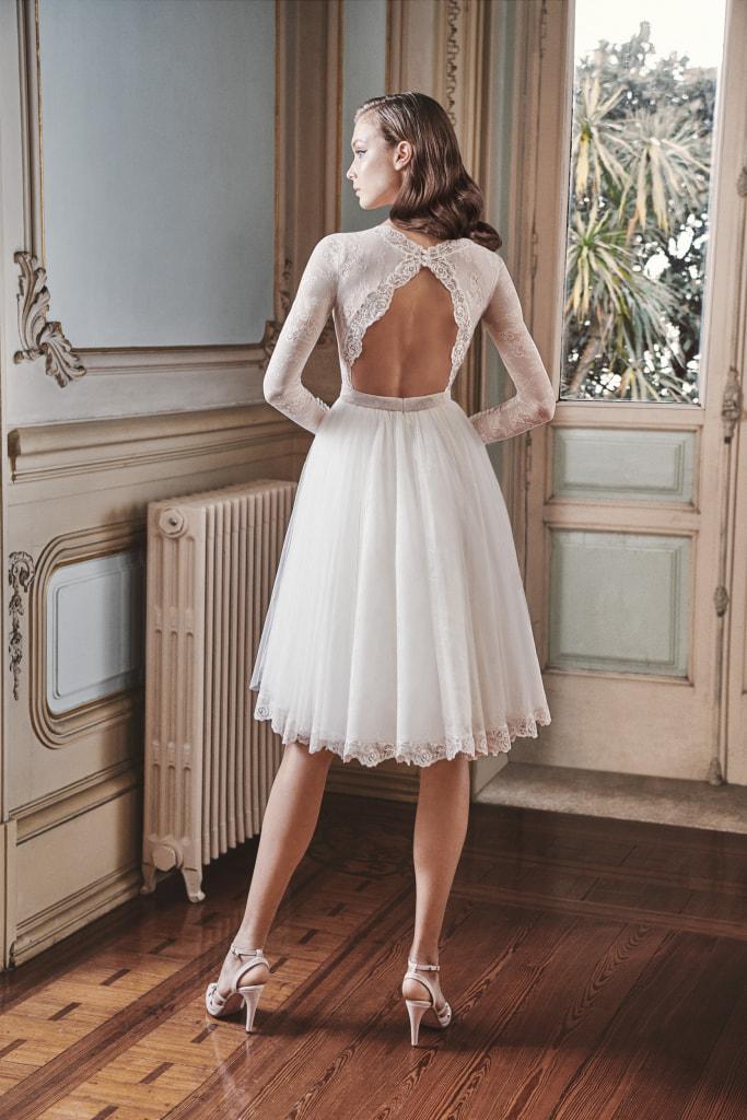 Vestido de novia 2021 - Londres - detras