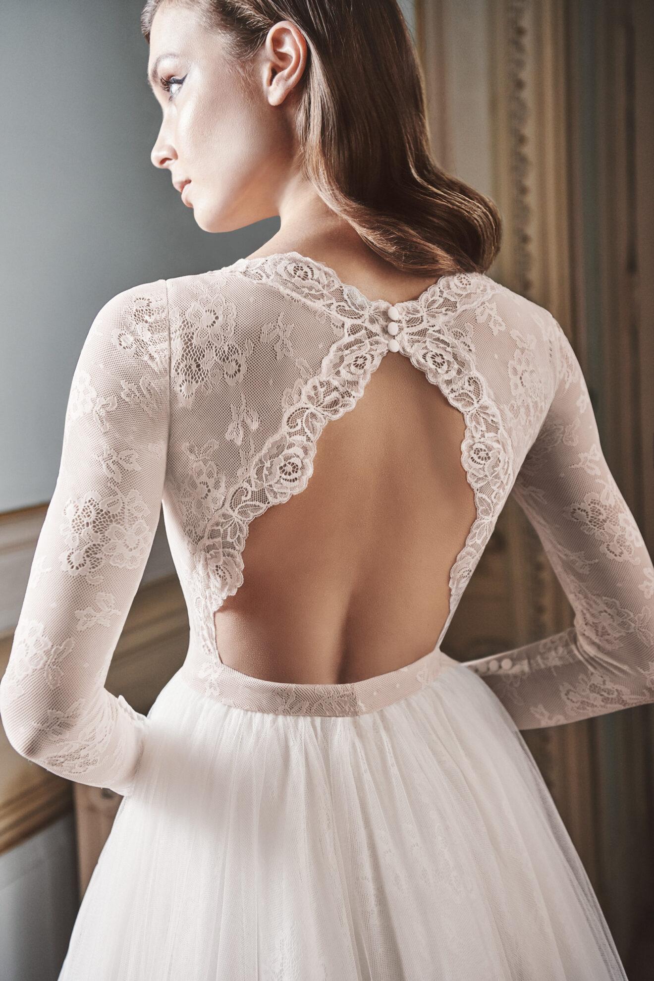 Vestido de novia 2021 - Londres - detalle