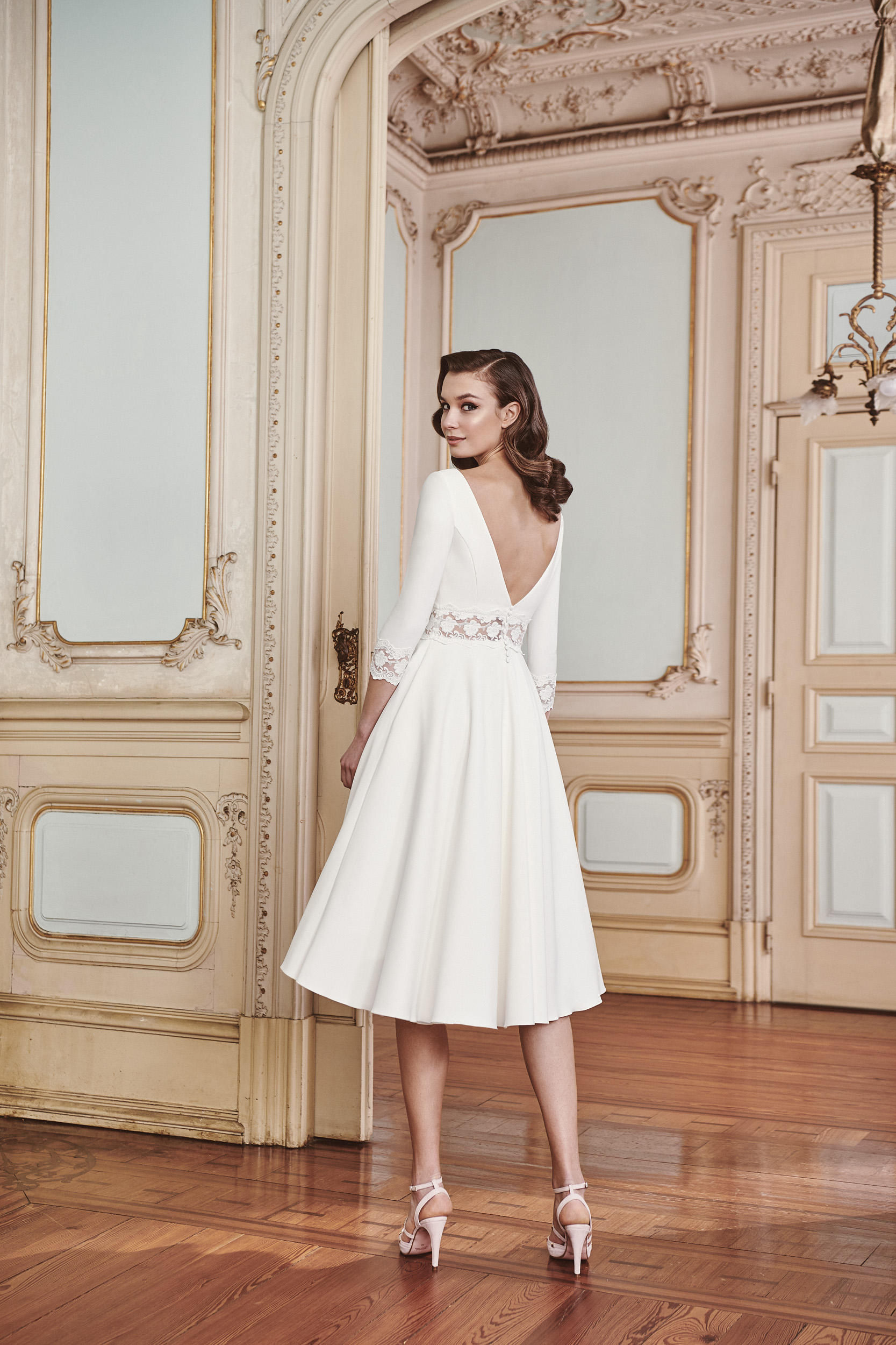 Vestido de novia 2021 - Lorena - detras