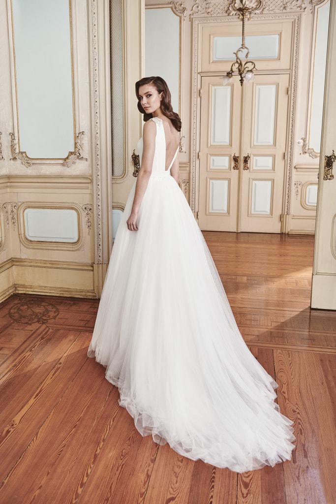 Vestido de novia 2021 - Love - detras