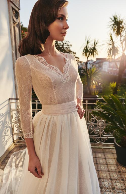 Vestido de novia 2021 - Luber - detalle