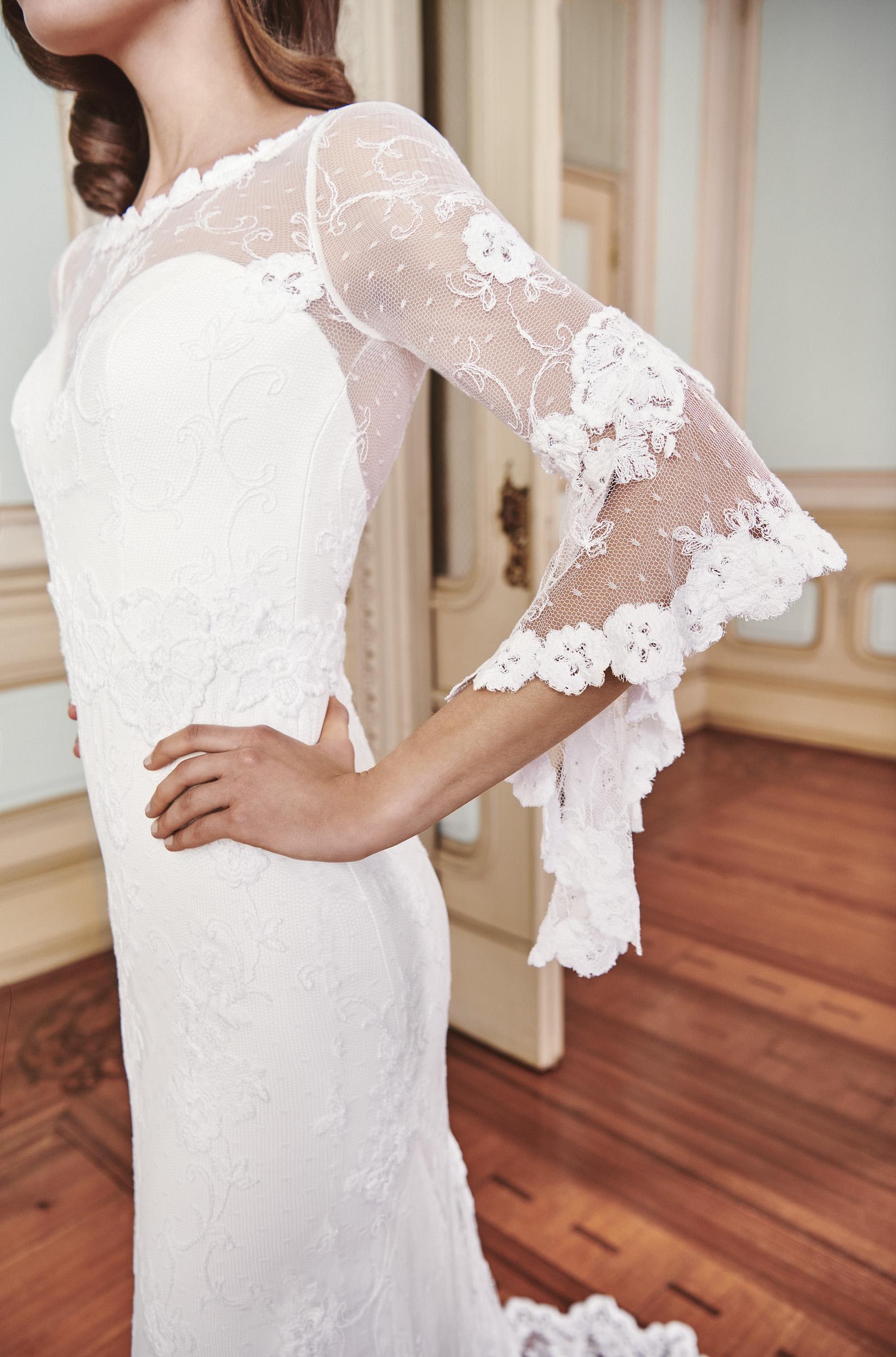 Vestido de novia 2021 - Luz - detalle