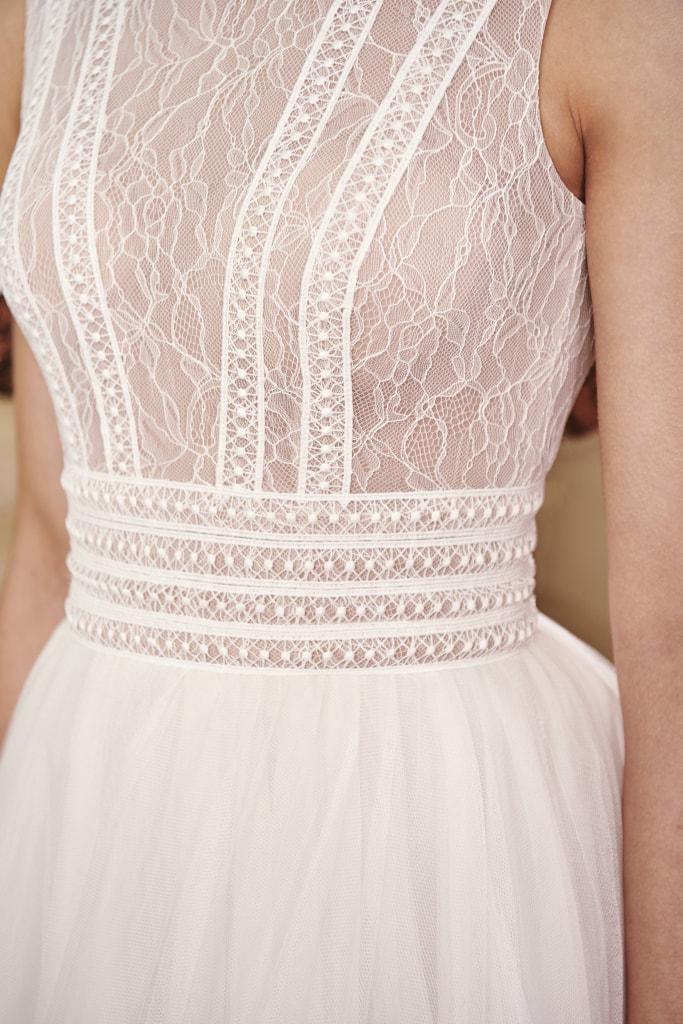 Vestido de novia 2021 - Lyra - detalle