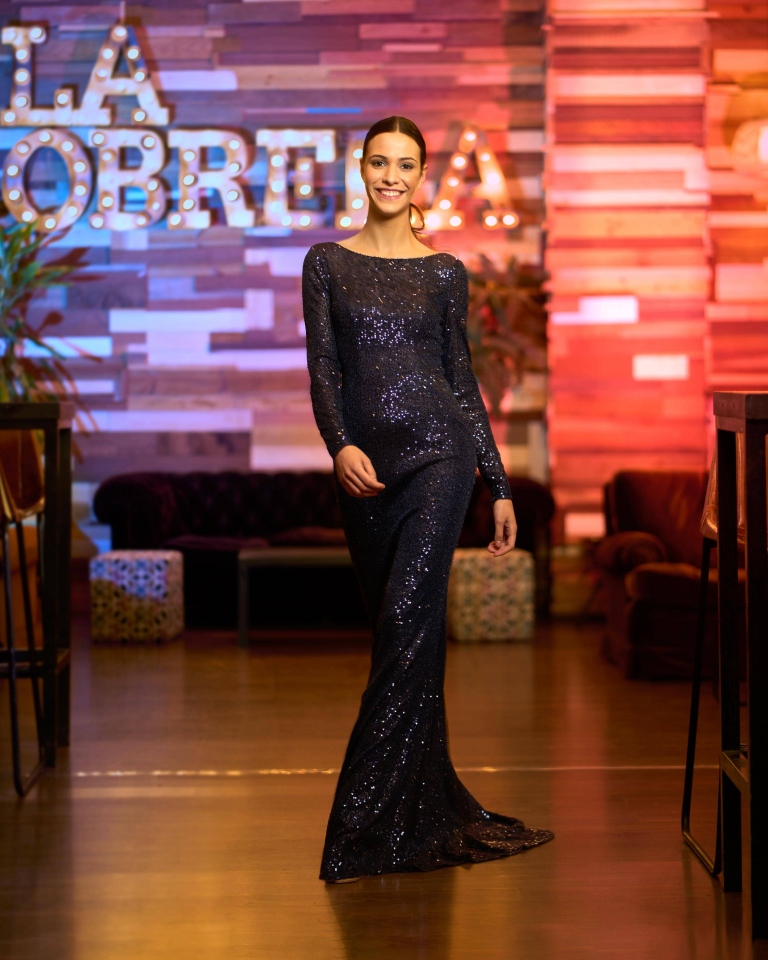Vestidos de fiesta Silvia Fernandez NAIMA FRENTE