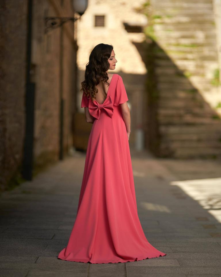 Vestidos de fiesta Silvia Fernandez NAOMI DETRAS