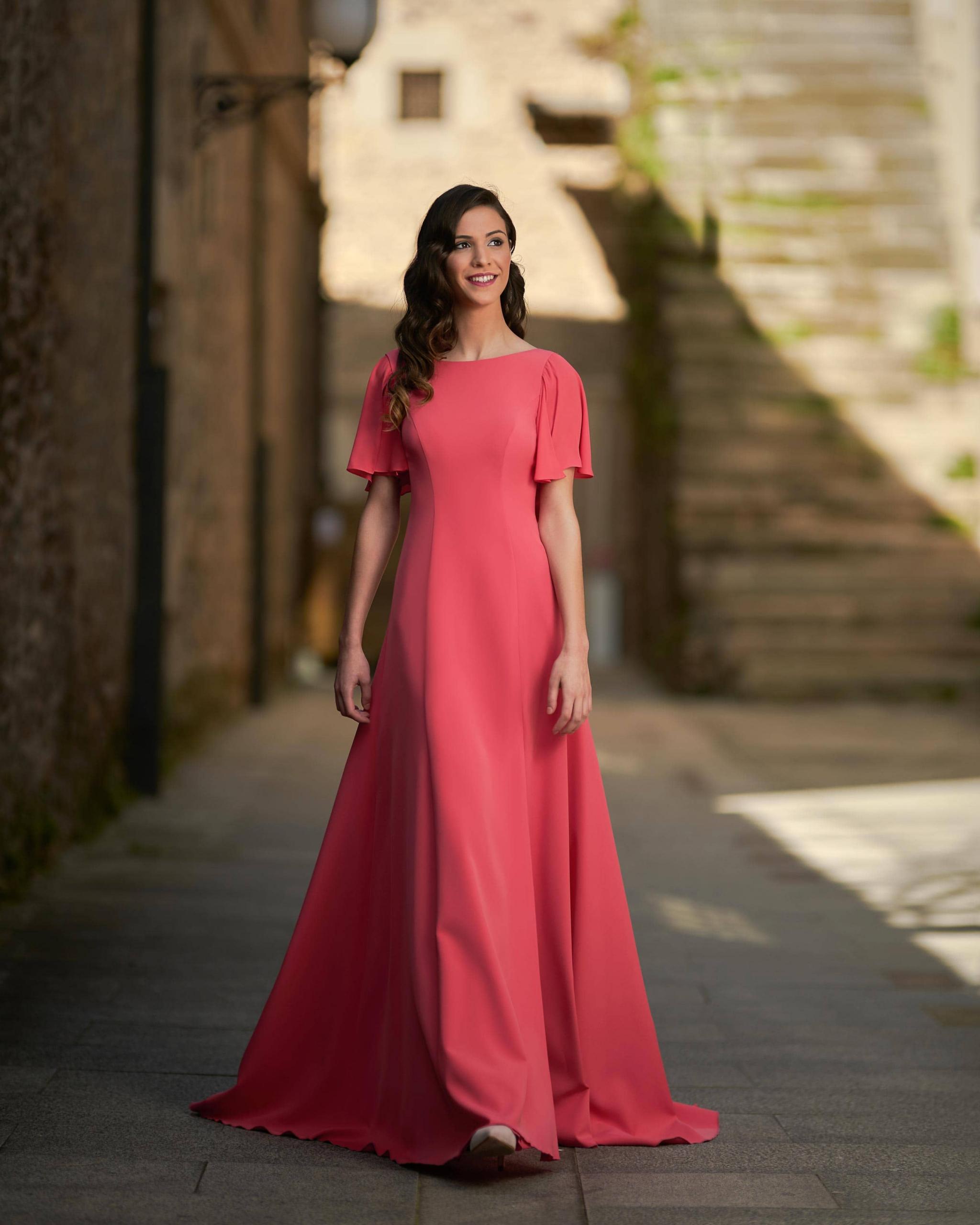 Vestidos de fiesta Silvia Fernandez NAOMI FRENTE