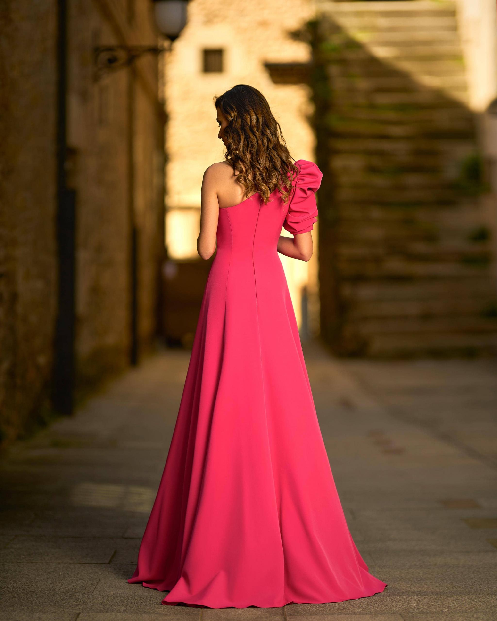 Vestidos de fiesta Silvia Fernandez NEW YORK DETRAS