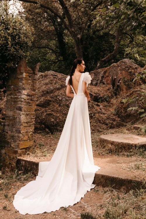 Vestidos de novia 2022 Silvia Fernandez Divertido 14