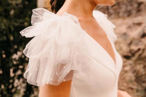 Vestidos de novia 2022 Silvia Fernandez Divertido 47