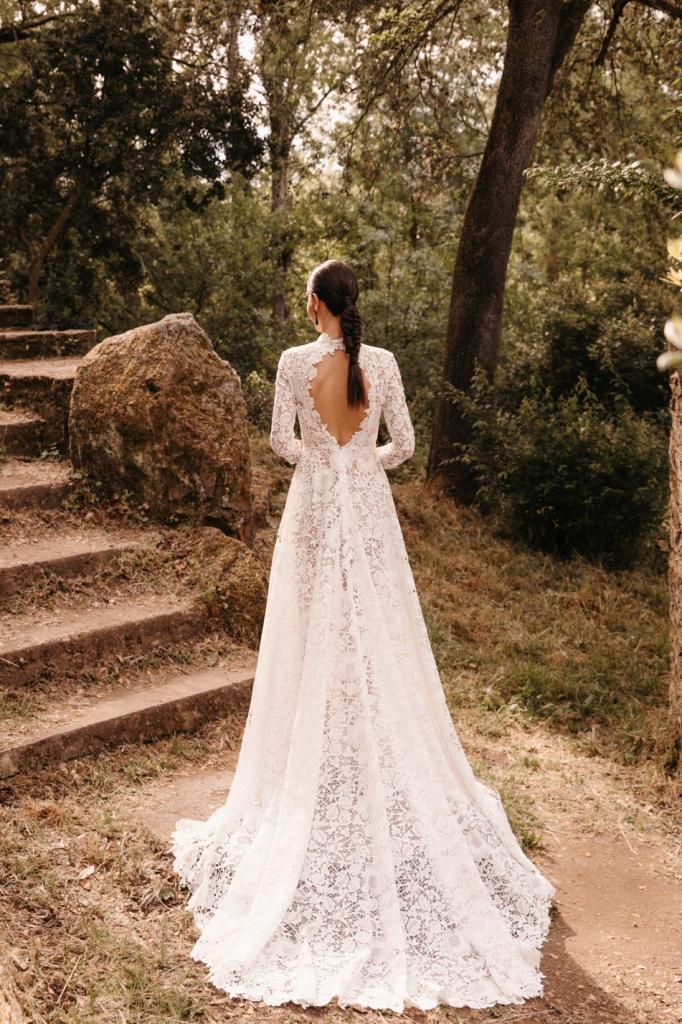 Vestidos de novia 2022 Silvia Fernandez Duna 4
